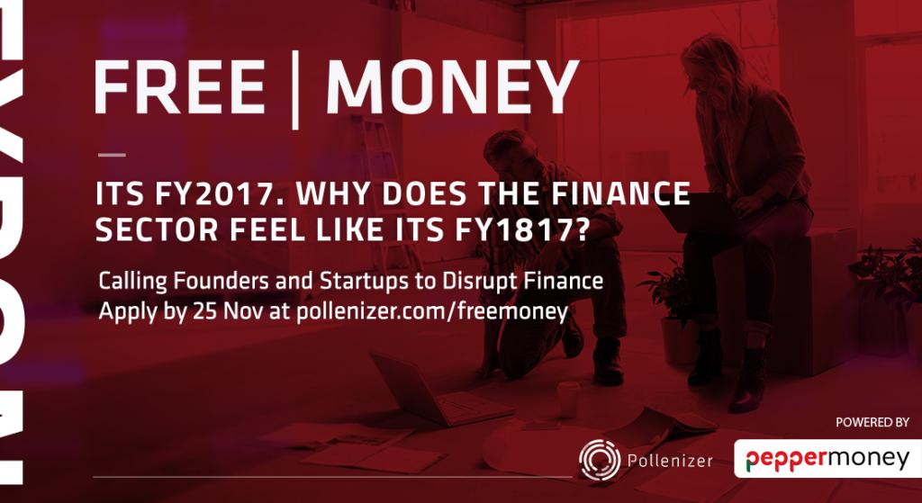 Calling Startups to Distrupt Finance